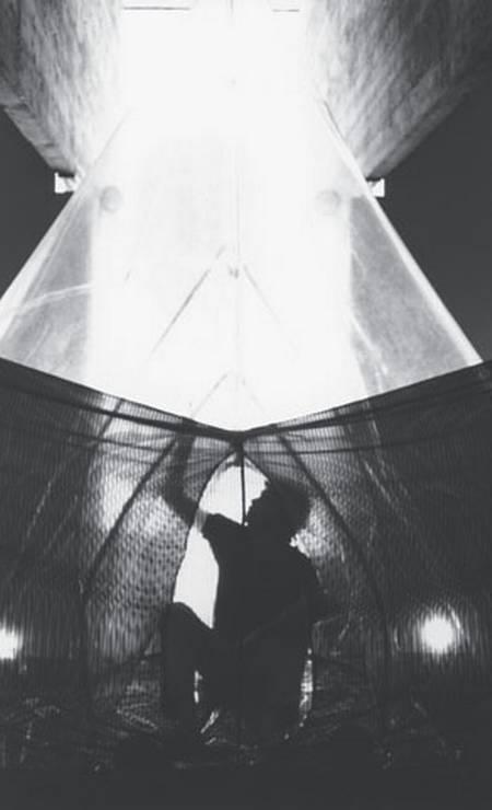 Instalação da série 'A casa é o corpo' Foto: Associação Cultural O Mundo de Lygia Clark
