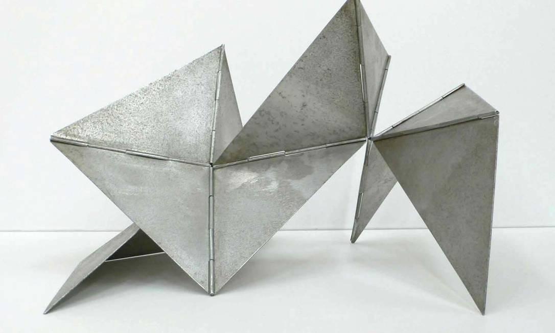 Escultura da série 'Bichos' Foto: Divulgação