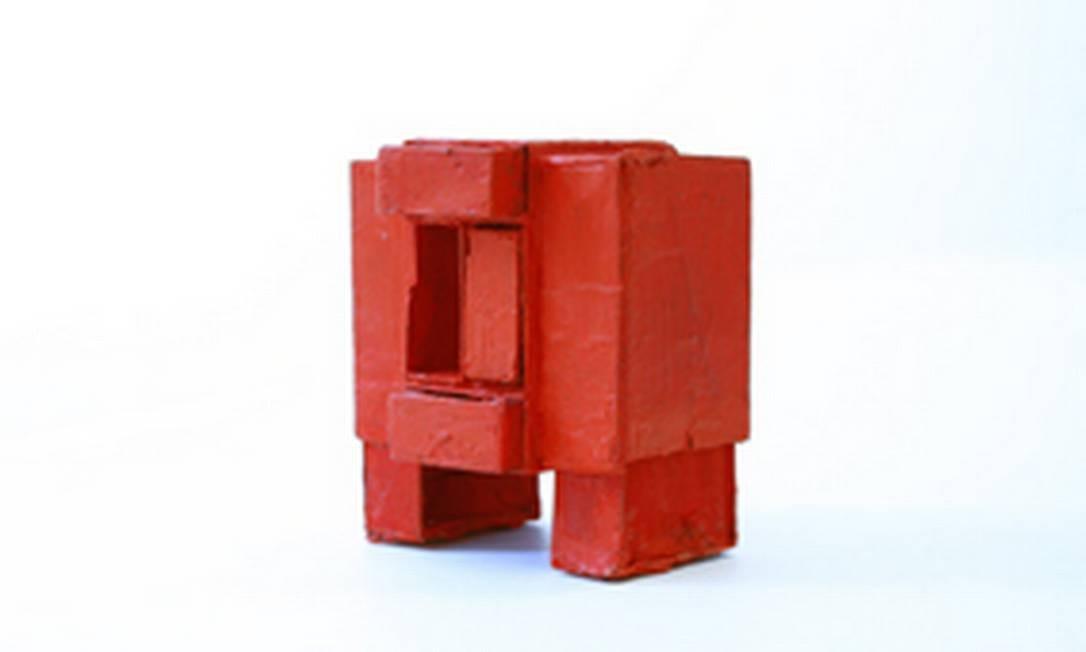 Obra da série 'Estrutura de caixas de fósforos' Foto: Associação Cultural O Mundo de Lygia Clark