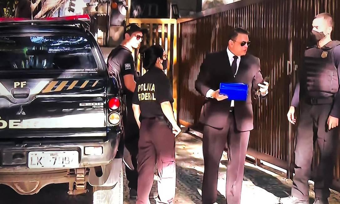PF faz operação de busca e apreenão contra advogado de réus da Lava-Jato Foto: Reprodução