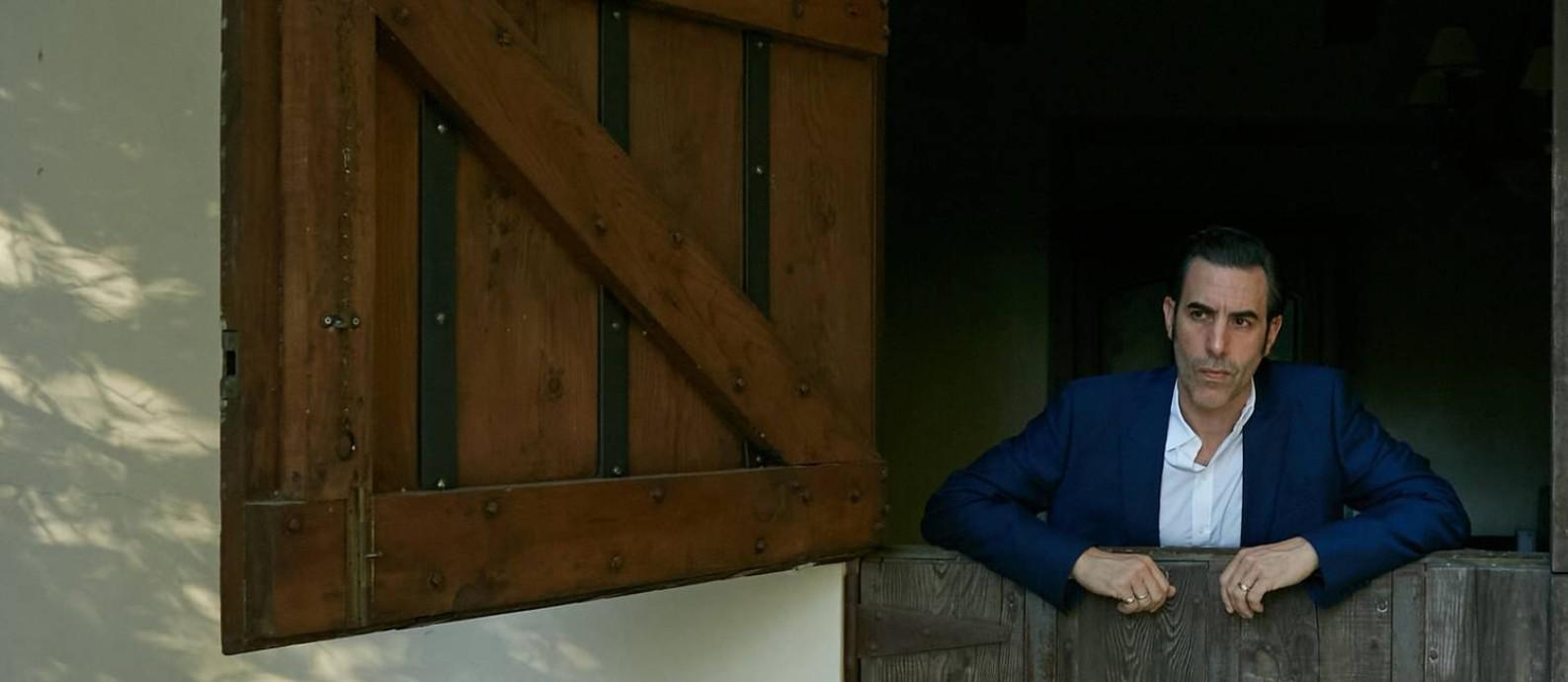 O ator Sacha Baron Cohen Foto: BUCK ELLISON / NYT