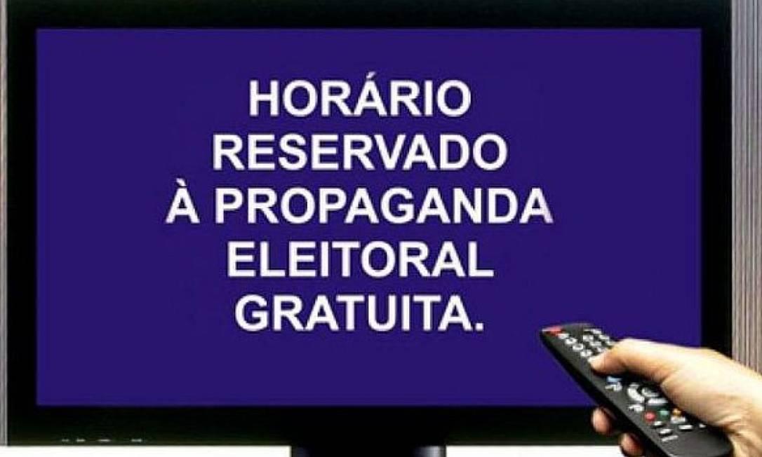 Horário eleitoral gratuito começa no dia 20 de novembro Foto: Reprodução TSE