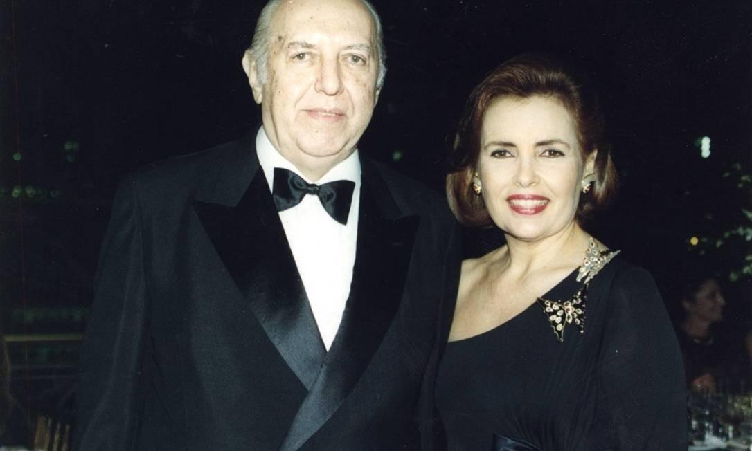 O empresário Fragoso Pires morreu na manhã desta sexta=feira (23) Foto: Carlos Sadicoff/05-08-1998 / Divulgação