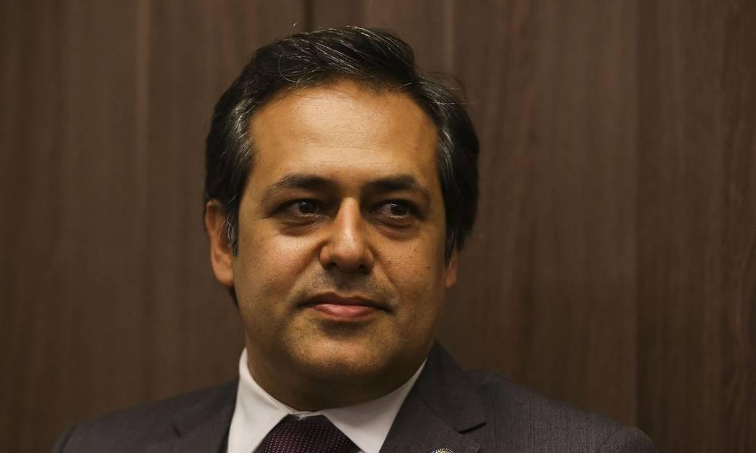 Kleber Cabral, presidente do Sindifisco Nacional Foto: Valter Campanato/Agência Brasil