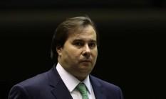 Presidente da Câmara de Deputados, Rodrigo Maia Foto: Jorge William | Agência O Globo