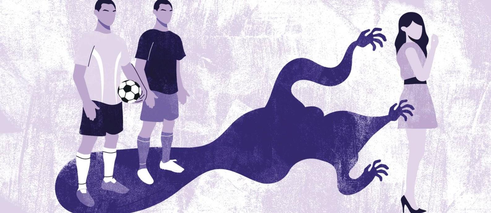 Casos de jogadores de futebol acusados de estupro são recorrentes Foto: Ana Costa