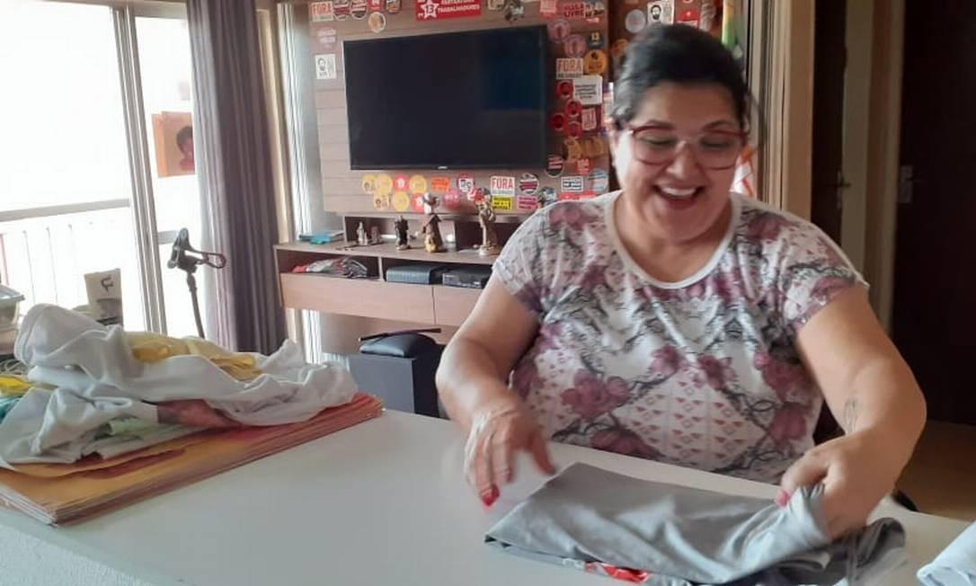 Anita Leorne: dona de casa é candidata a vereadora pelo PT na cidade do Rio Foto: Reprodução