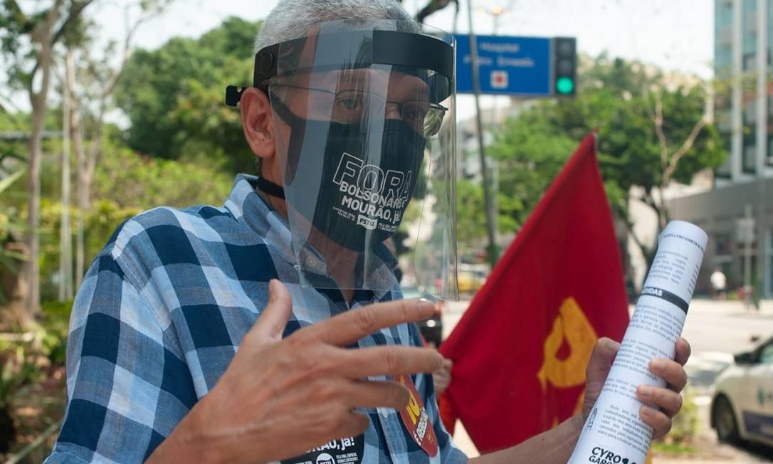 Candidato do PSTU à Prefeitura do Rio Foto: Divulgação