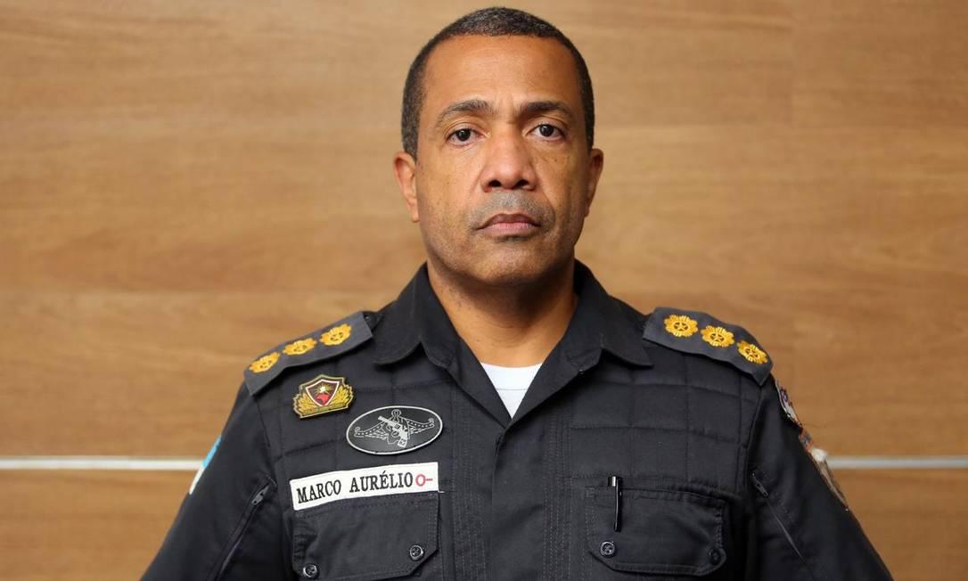 O coronel Marco Aurélio Santos assume a Seap Foto: Philippe Lima / Divulgação