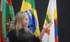 Com afastamento de Carlos Moisés, Daniela Reinehr assume interinamente o governo de Santa Catarina Foto: Divulgação/ Facebook
