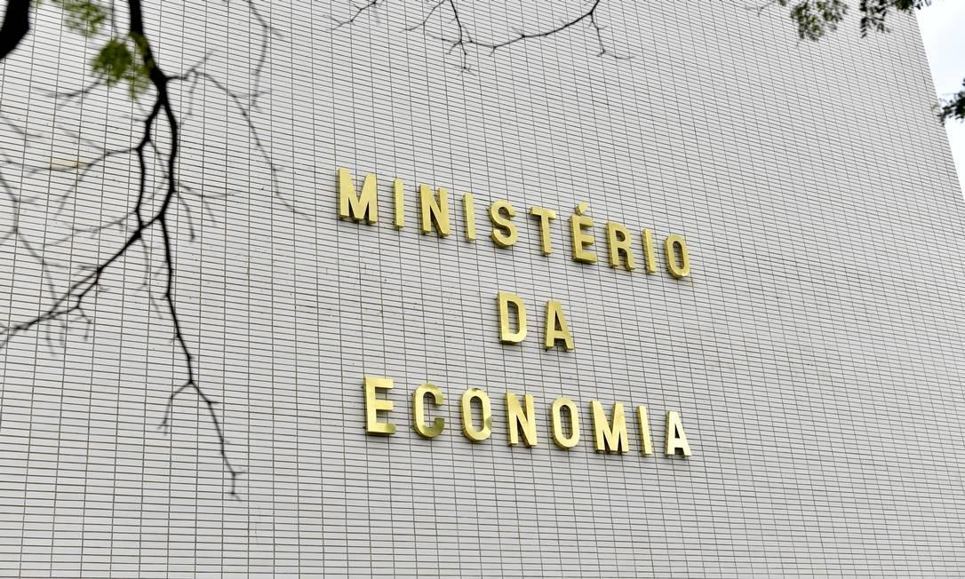 Fachada do Ministério da Economia, em Brasília Foto: Geraldo Magela / Agência O Globo
