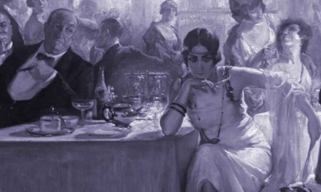 Exposição 'Convidadas', do Museo do Prado de Madri, revê misoginia na arte espanhola. Falenas, óleo sobre tela de Carlos Verger Fioretti (1920), faz parte da mostra Foto: Divulgação/Museo Nacional del Prado
