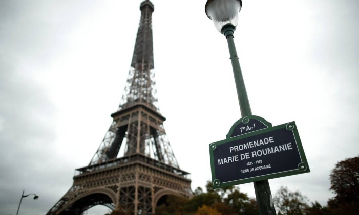 A Torre Eiffel, em Paris, na França Foto: Benoit Tessier / AFP