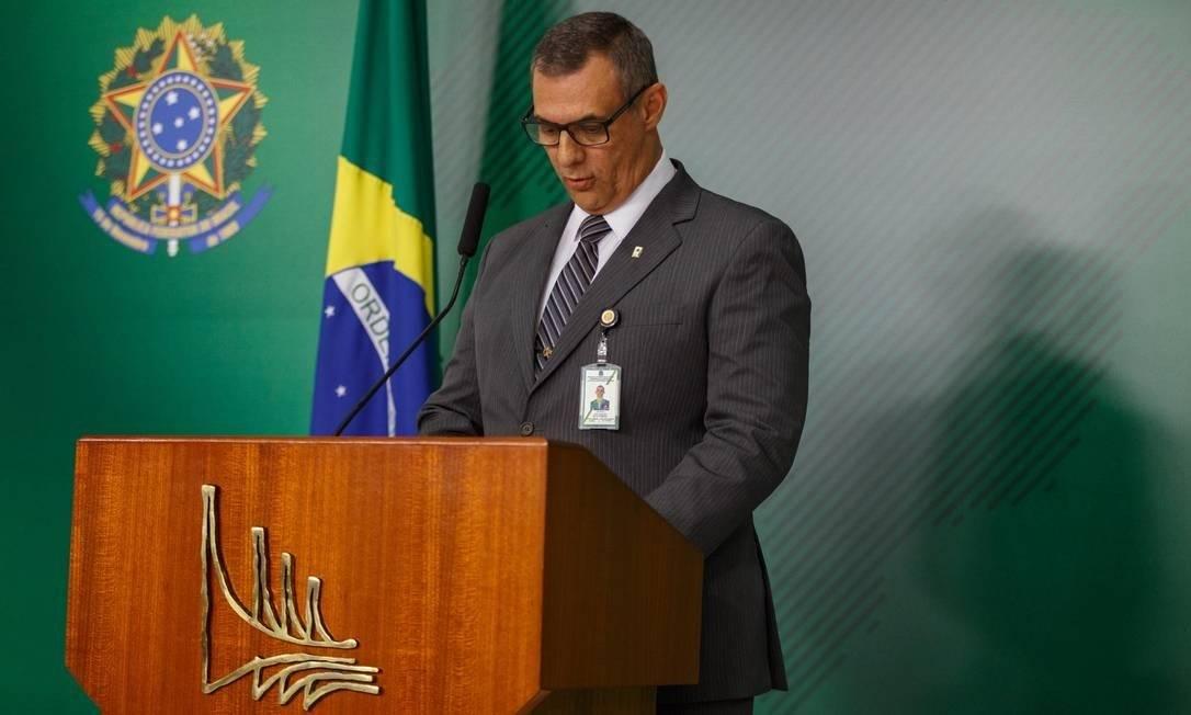 General Otavio Rêgo Barros é ex-porta-voz da Presidência da República do governo Bolsonaro Foto: Daniel Marenco / Agência O Globo