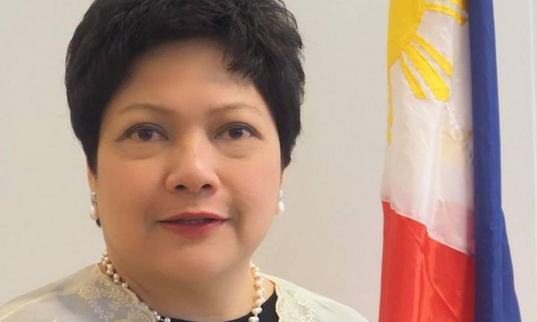 Marichu Mauro atuava como embaixadora no Brasil desde 2018 Foto: Reprodução/Facebook
