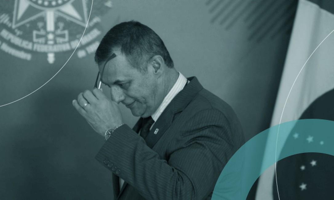 General Otávio Rêgo Barros depois de pronunciamento no Palácio do Planalto, no ano passado: alerta sobre os