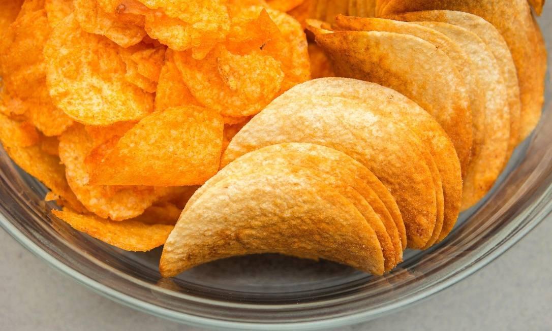 Batata chips é considerada alimento ultraprocessado; consumo aumenta Foto: Pixabay