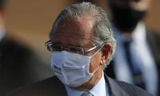 O ministro da Economia, Paulo Guedes Foto: Jorge William/Agência O Globo