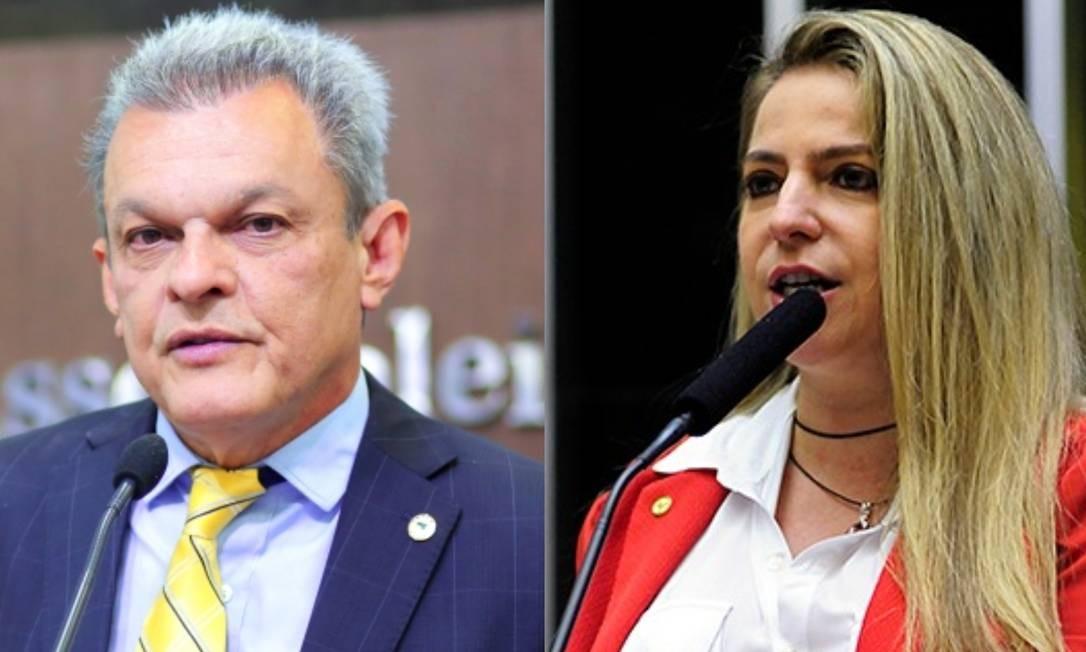 José Sarto, candidato pelo PDT, e Luizianne Lins, do PT Foto: AL-CE/Câmara dos Deputados