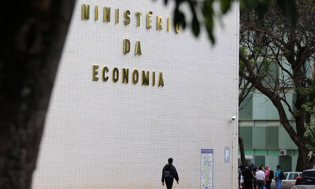Sede do Ministério da Economia, em Brasília Foto: Jorge William / Agência O Globo