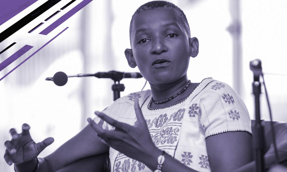 A socióloga e documentarista sul-africana Zethu Matebeni Foto: Divulgação