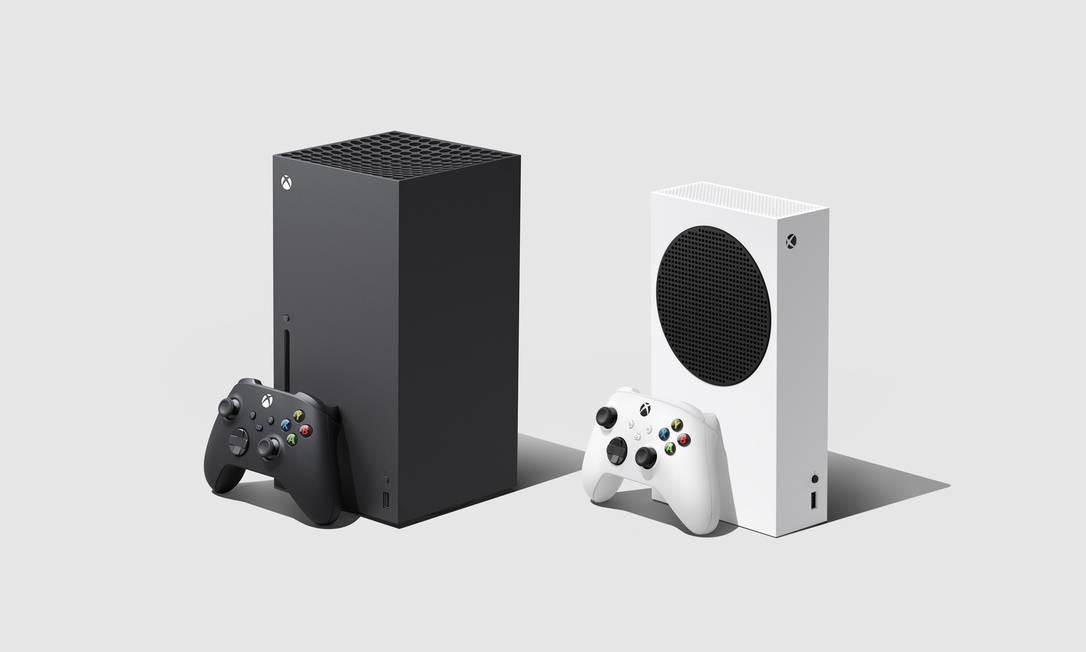 Os novos Xbox Series chegam às lojas no dia 10 de novembro Foto: Divulgação