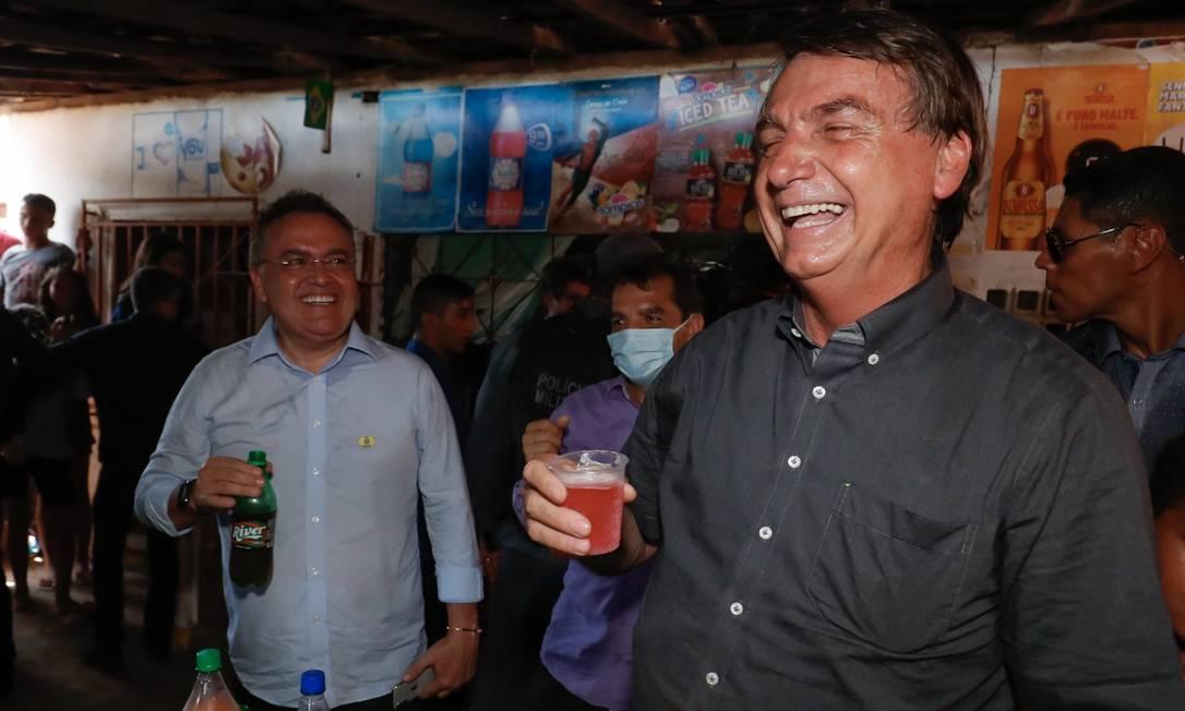 "Jair Bolsonaro disse que havia virado ""boiola"" ao beber Guaraná Jesus Foto: Alan Santos/PR"