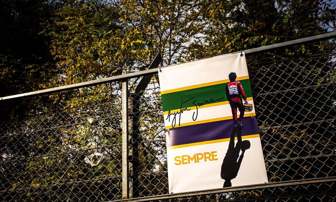 Senna Foto: Reprodução