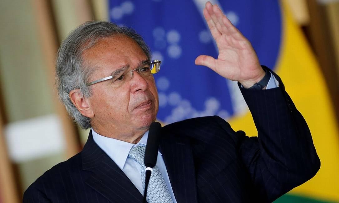 O ministro da Economia, Paulo Guedes. Foto: Adriano Machado / Reuters