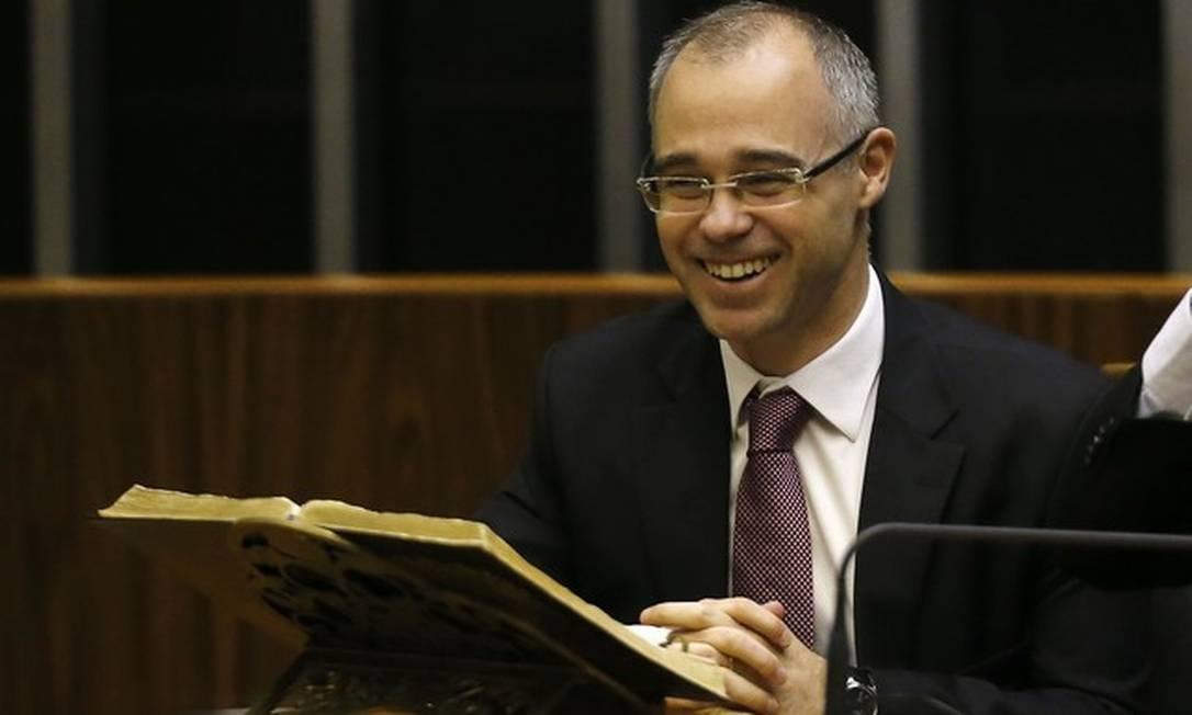 André Mendonça, ministro da Justiça Foto: Jorge William/Agência O Globo