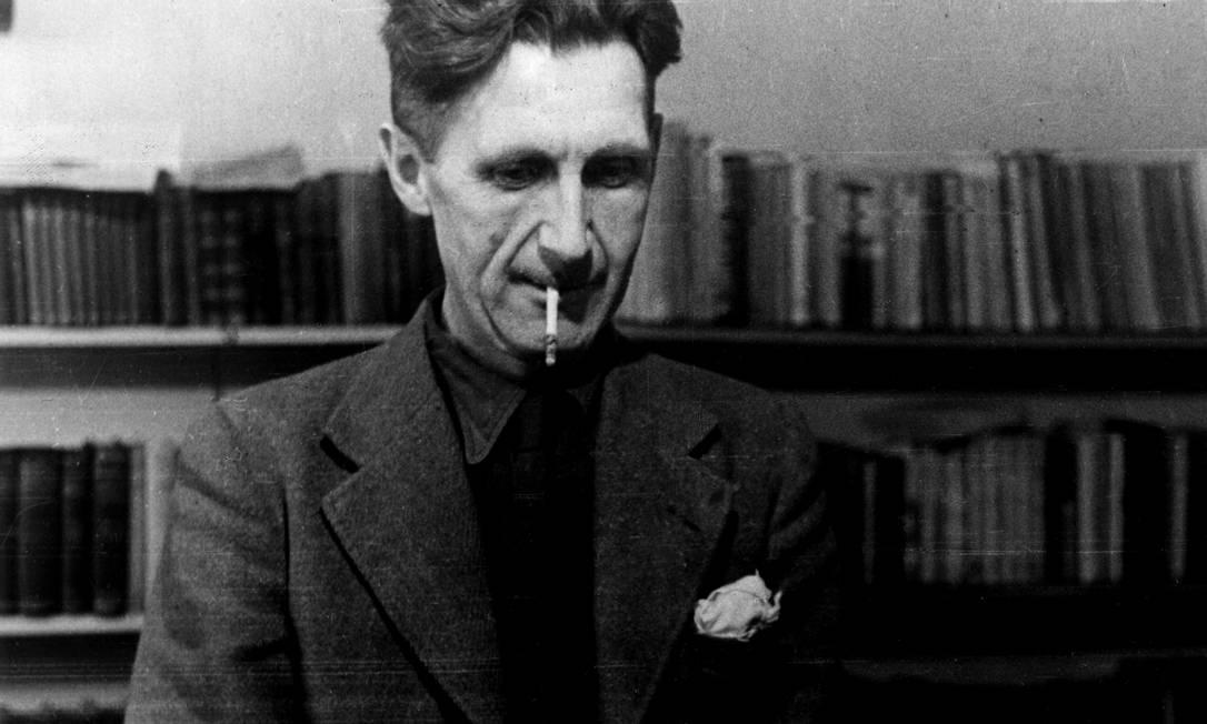 George Orwell: experiências entre viciados e mendigos ou na Guerra Civil Espanhola inspiraram sua obra Foto: Mondadori/Divulgação
