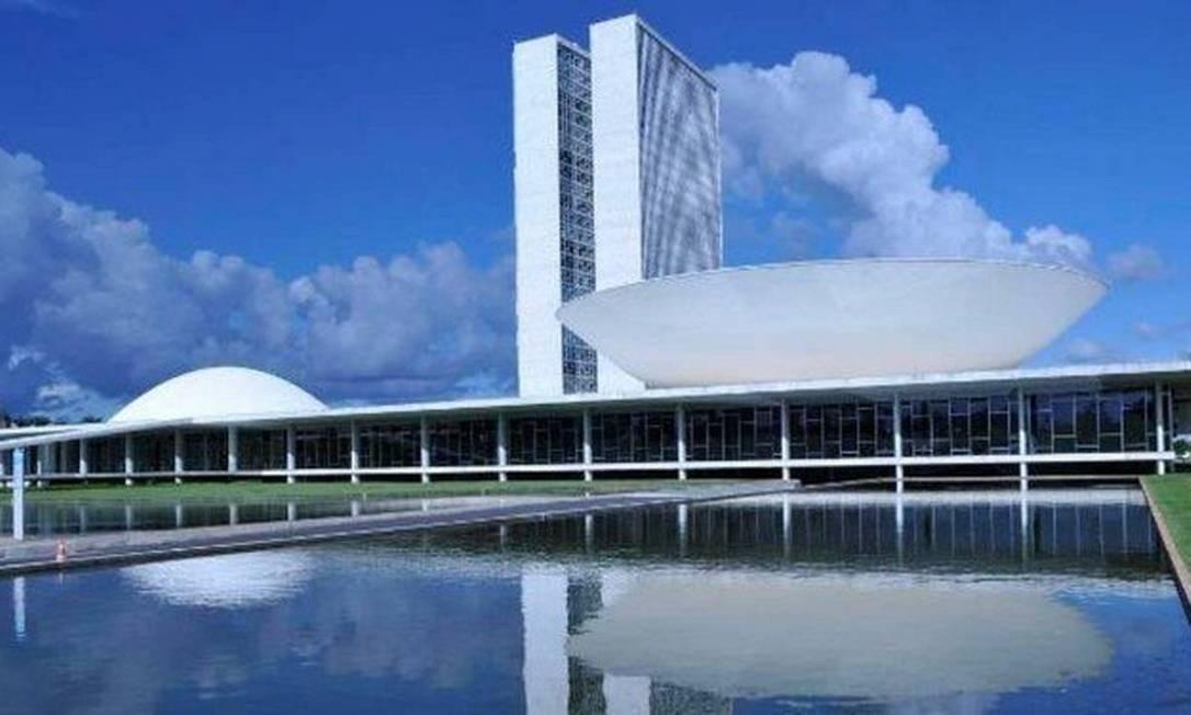 A fachada do Congresso Nacional, em Brasília Foto: Câmara dos Deputados/Divulgação