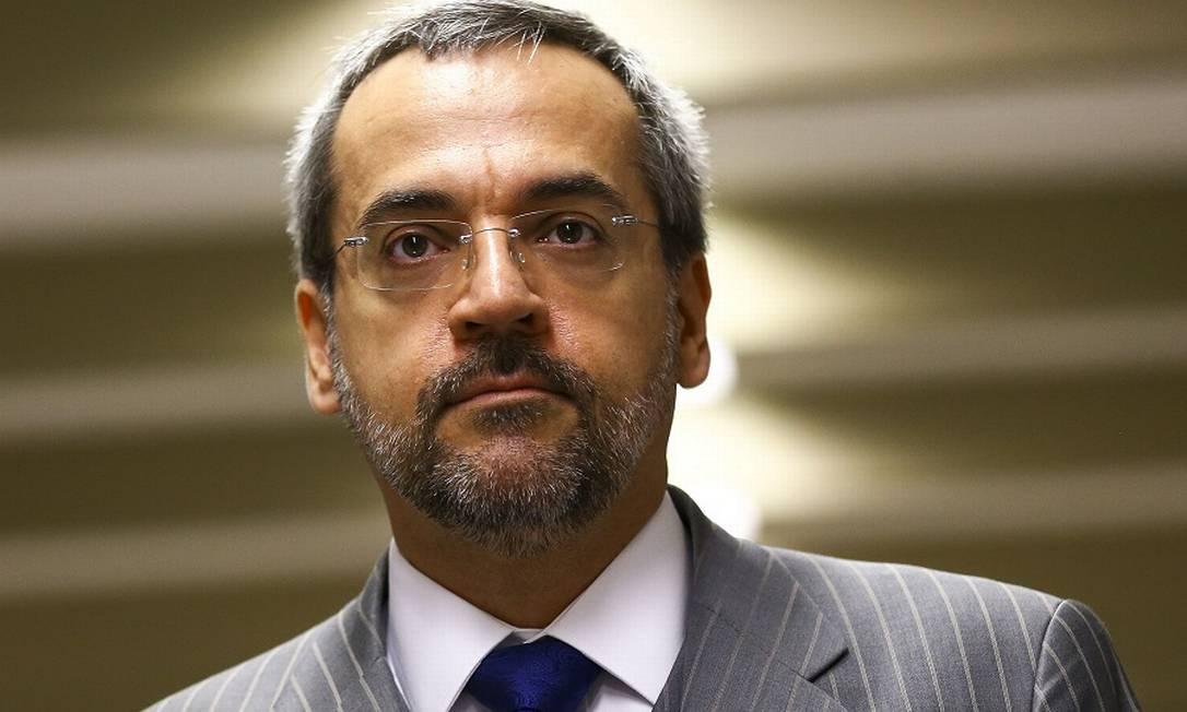 O ex-ministro da Educação, Abraham Weintraub. Foto: Marcelo Camargo / Agência O Globo