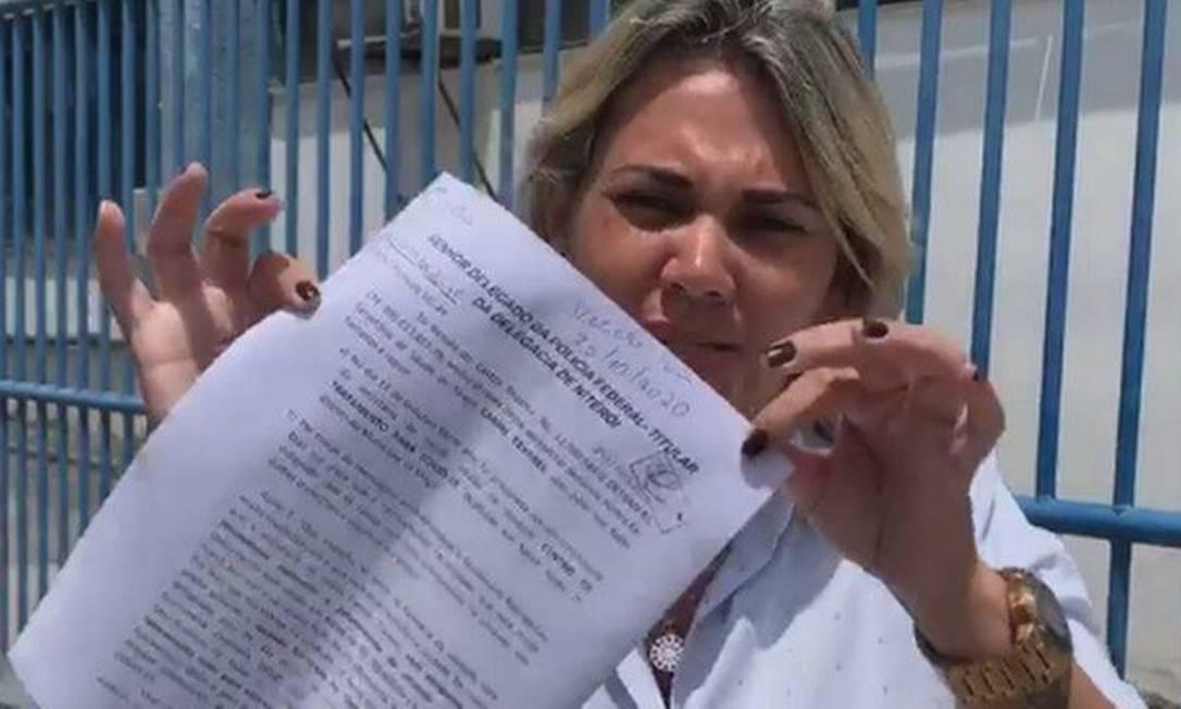Renata Castro foi assassinada menos de 12 horas após denunciar à Polícia Federal ameaças de adversários políticos Foto: Reprodução