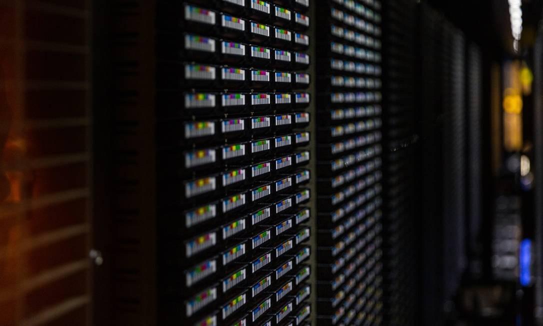 Microsoft aposta na maior demanda por serviços em nuvem. Na imagem, um data center operado pela companhia Foto: Divulgação