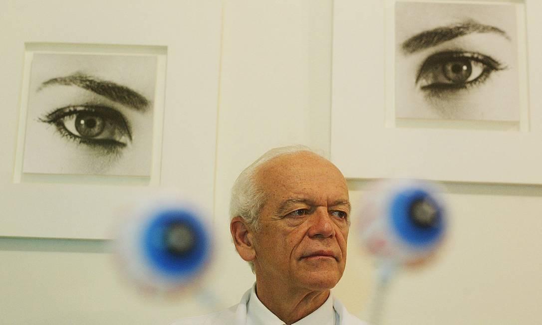 Rubens Belfort Júnior, presidente da Academia Nacional de Medicina Foto: Alex Almeida / Folhapress