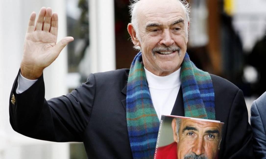 Connery morreu aos 90 anos Foto: ED JONES / AFP