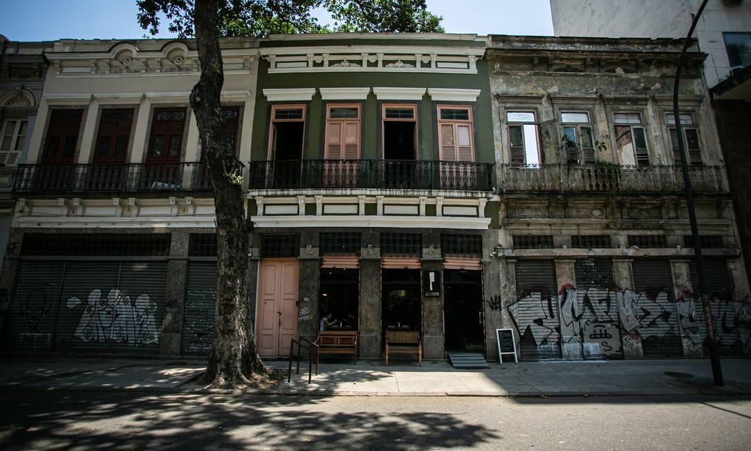 Restaurante Refeitório, no Centro do Rio, deve fechar em novembro segundo seus donos, como consequência da pandemia Foto: Hermes de Paula / Agência O Globo