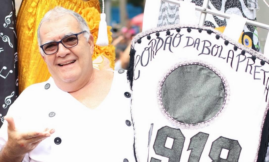 Pedro Ernesto Marinho está há 13 anos à frente do centenário Cordão da Bola Preta Foto: Rafael Santos / Divulgação