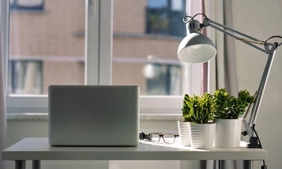 Iluminação natural e plantas ajudam a deixar ambiente mais agradável Foto: Pixabay