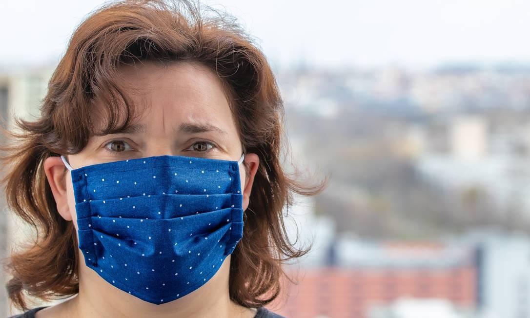 Maioria dos tecidos comumente usados nas máscaras têm bons resultados na filtragem de partículas ultrafinas Foto: Pixabay