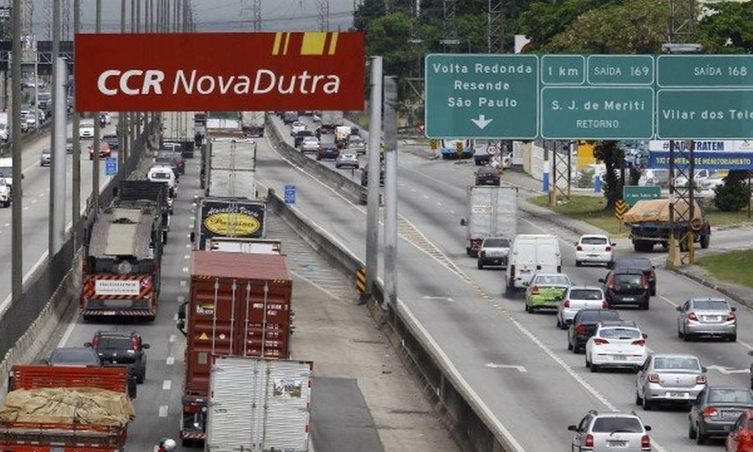 Fim do contrato da CCR será em fevereiro Foto: Guilherme Pinto / Agência O Globo