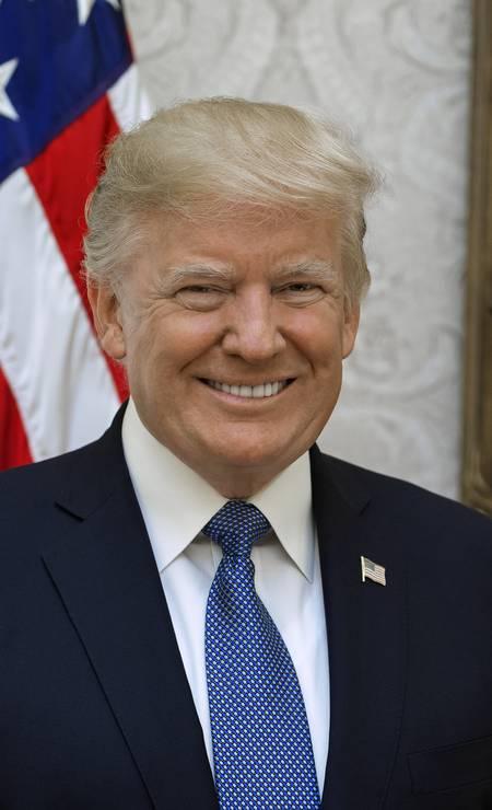 O republicano Donald Trump é o 45º presidente do Estados Unidos Foto: Divulgação / White House