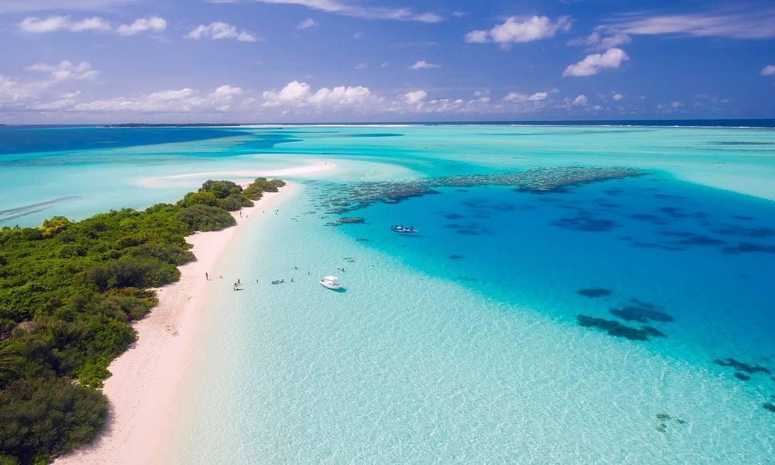 Maldivas, no Oceano Índico Foto: CC/Pixabay