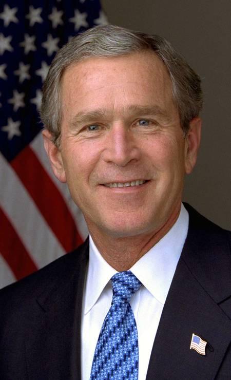 George W. Bush, republicano, governou de 2001 a 2009, também por dois mandatos consecutivos Foto: Divulgação / White House