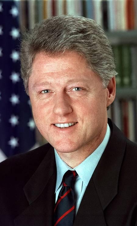 Bill Clinton, democrata, governou de 1993 a 2001 Foto: Divulgação / White House