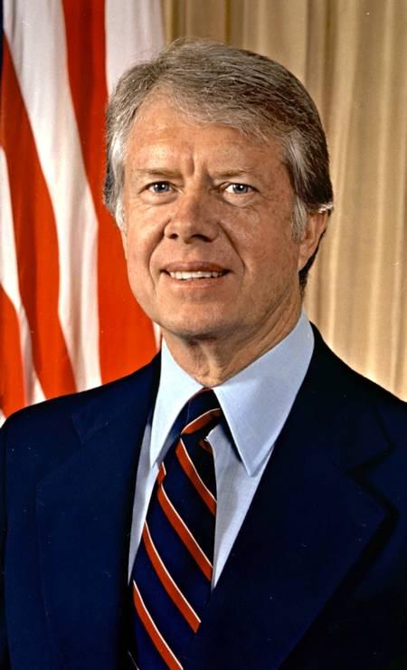 Jimmy Carter, democrata, foi o 39º presidente a governar os EUA, entre 1977 e 1981 Foto: Divulgação / White House