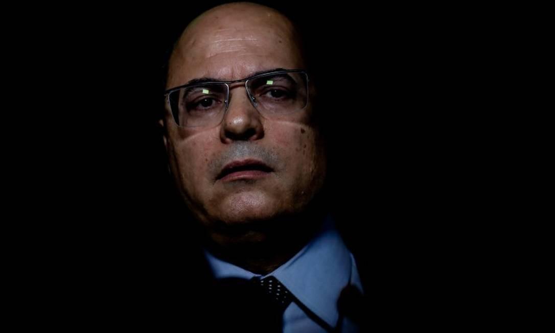 Wilson Witzel, governador afastado do Rio Foto: Marcelo Chello / CJPress / Agência O Globo / 18-02-2020