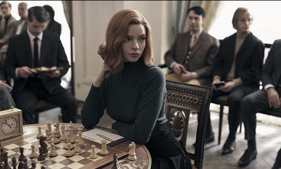 Anya Taylor-Joy em 'O gambito da rainha' Foto: Divulgação