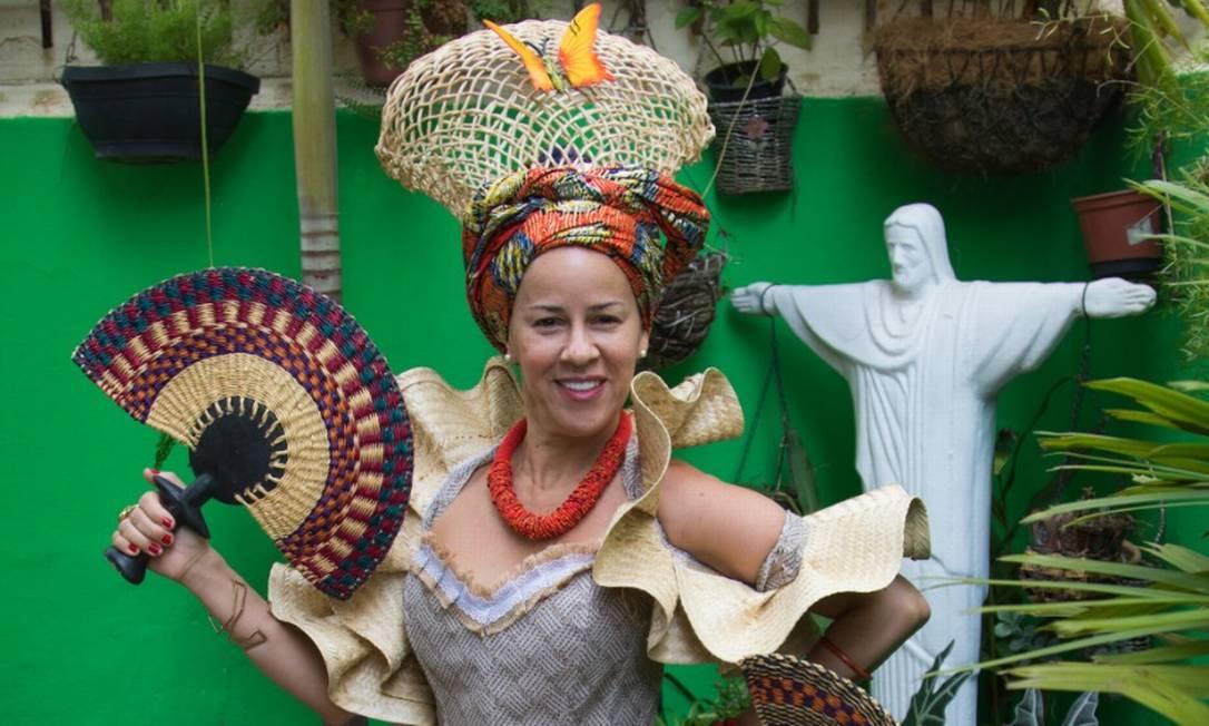 A paraibana Ellen Cunha criou o Acarajé da Ellen, que é sucesso de vendas na Tijuca Foto: Divulgação/Lucas Gomes/OndaSkim